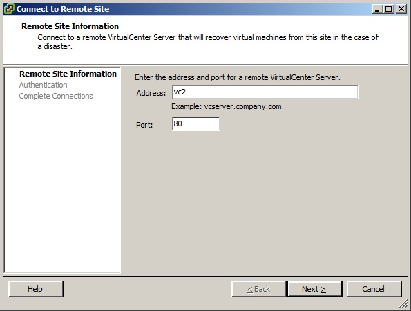 VMware Site Recovery Manager with LeftHand VSA