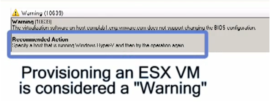 scvmm-provisioning-a-vm-on-esx-is-consideren-a-warning
