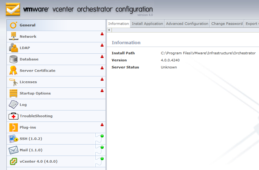 How to configure VMware vCenter Orchestrator